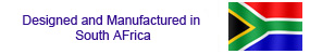 Proudly made and manufactured in South Africa